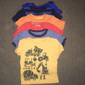 Toddler Boy short sleeve shirt bundle